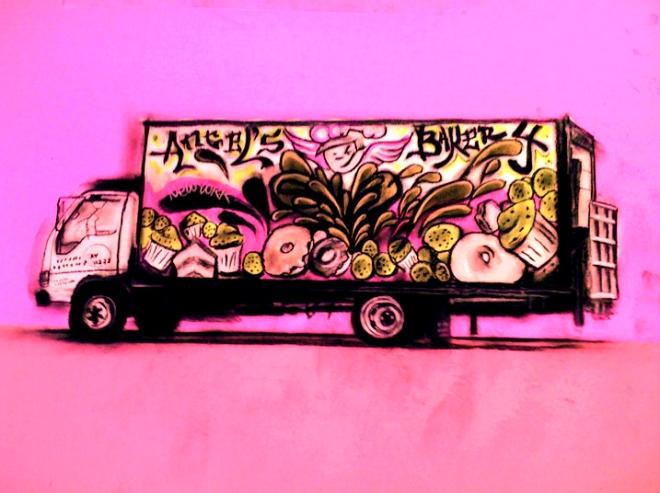 Angel's truck
