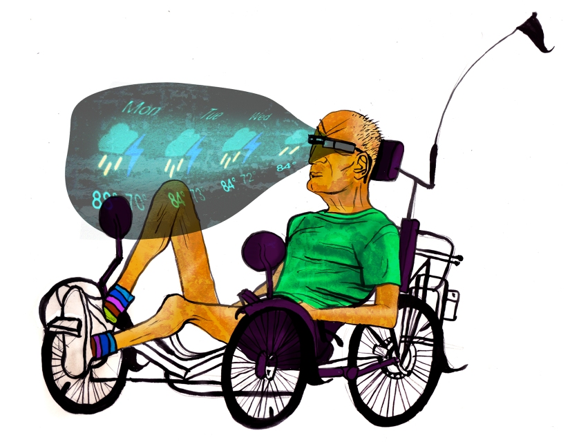 Google Glass (recumbent)